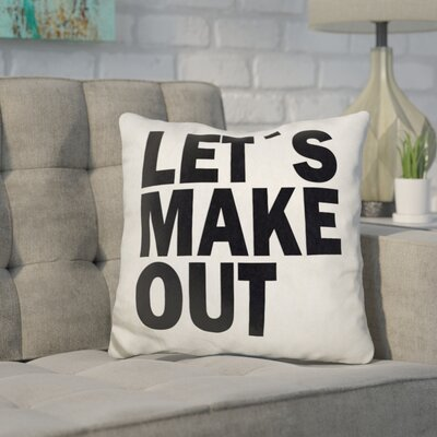 Hathor Lets Make Out Throw Pillow
