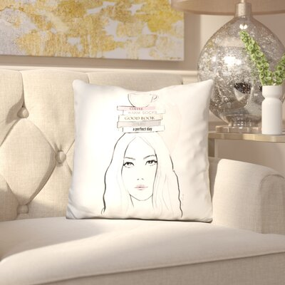Biron Books Throw Pillow