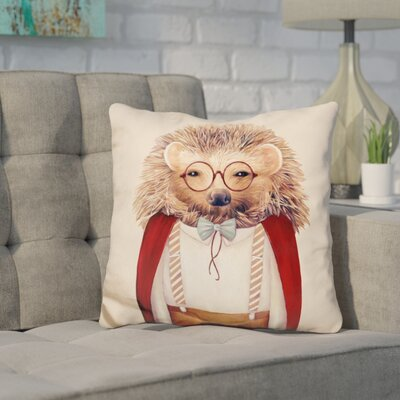 Herzberg Hedgehog Throw Pillow