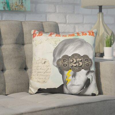 Kalgoorlie Andy Throw Pillow