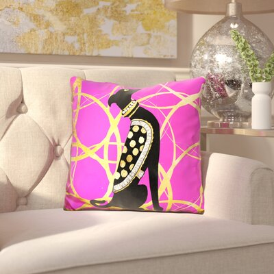 Brandon Couture Dog Throw Pillow