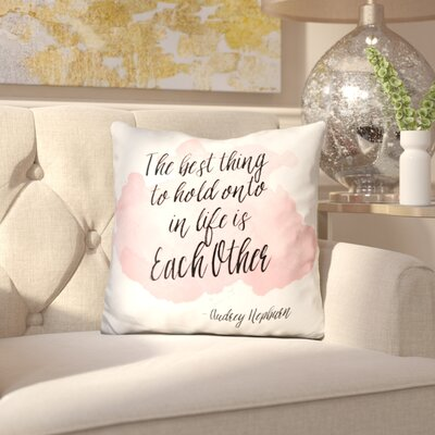 Binberrie the Best Thing Throw Pillow
