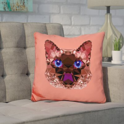Corker Grumpycat Throw Pillow