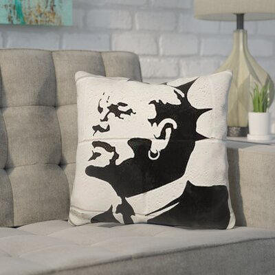 Kangas Punk Lenin Throw Pillow