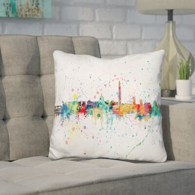 Janke Washington Dc Throw Pillow
