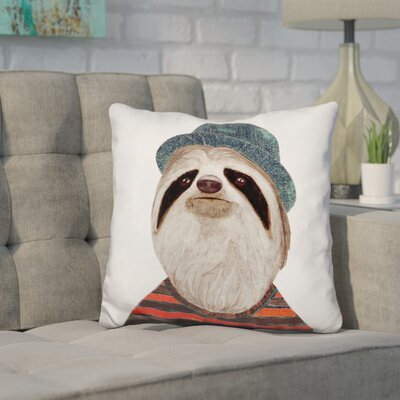 Hibbs Sloth Throw Pillow