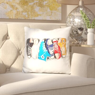 Jarrard Converse Line Throw Pillow