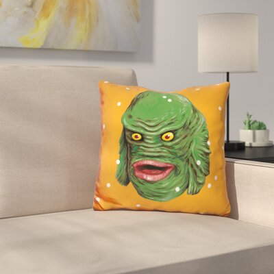 Jiang Creature from the Black Lagoon Throw Pillow