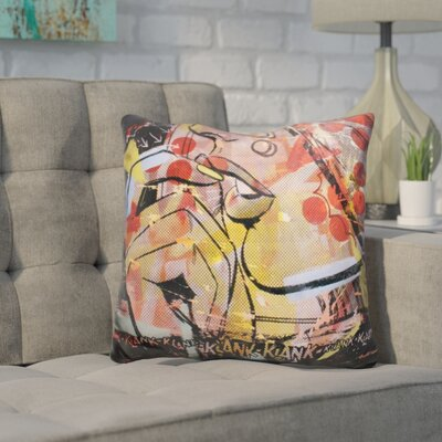 Kalypso Klank Klank Throw Pillow