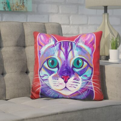 Core Cat Surprise Throw Pillow