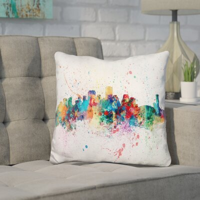 Jankowski New Orleans Louisiana Throw Pillow