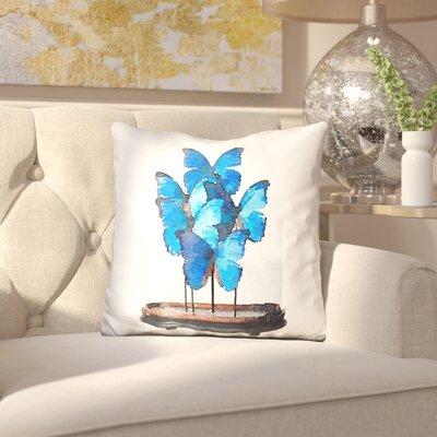 Jarman Butterflies Dome Throw Pillow