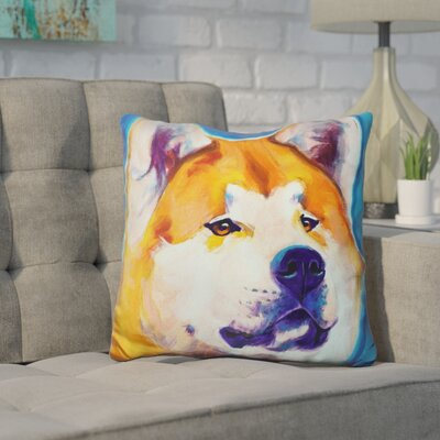 Herrington Akita Apricot Throw Pillow