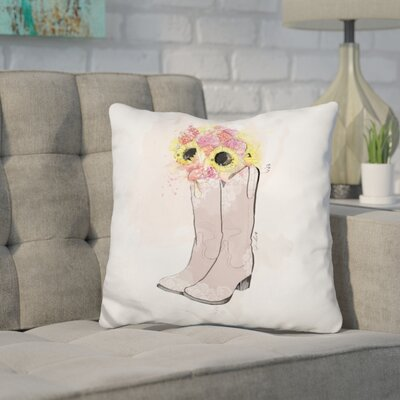Herod Cowgirl Throw Pillow