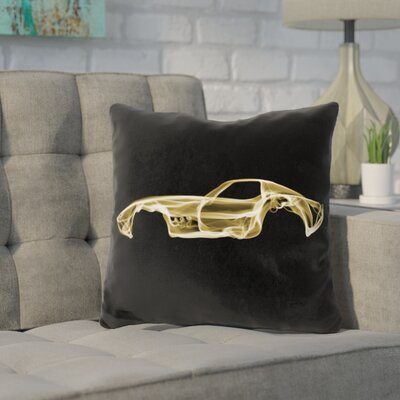Kennerson Corvette Throw Pillow