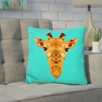 Corker Giraffe Throw Pillow