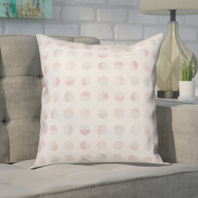 Tressler Watercolor Semi-Circles Throw Pillow