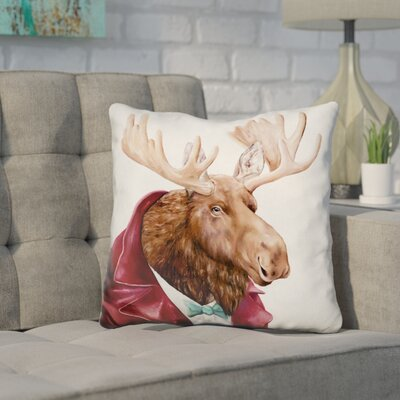 Hetherington Moose Throw Pillow