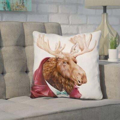 Hetherington Moose Throw Pillow