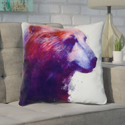 Barthel Grizzly Indoor/Outdoor Throw Pillow