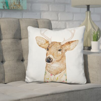 Jeffrey Tailed Deer Throw Pillow