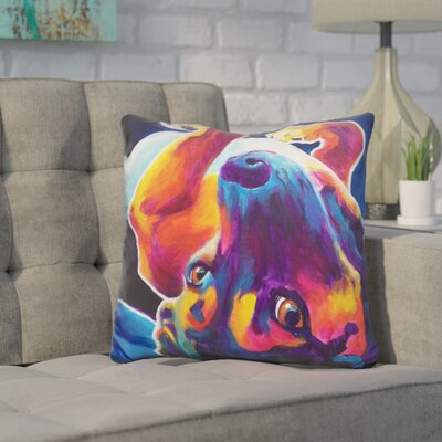 Coria Beagle Roxy Throw Pillow