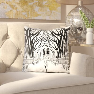 Eisley Central Park Throw Pillow