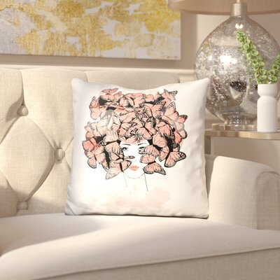 Bischoffs Butterfly dream Throw Pillow