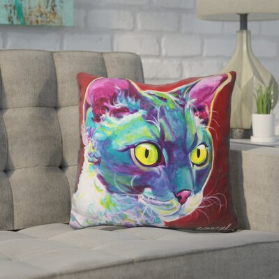 Core Devon Rex Throw Pillow