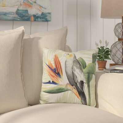 Saxon Avian Paradise Throw Pillow