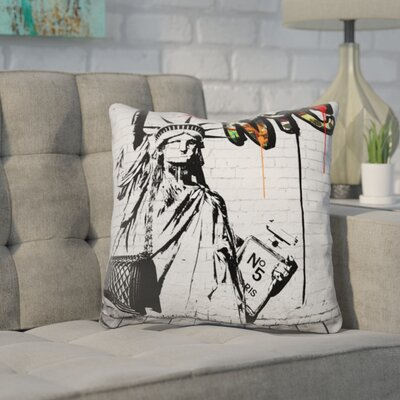 Kanode Lady Liberty Throw Pillow