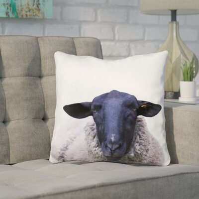 Keltner Sheep Throw Pillow Color: Blue