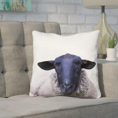 Keltner Sheep Throw Pillow Color: Blue