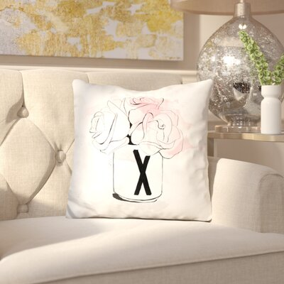 Birchley X Bouquet Throw Pillow