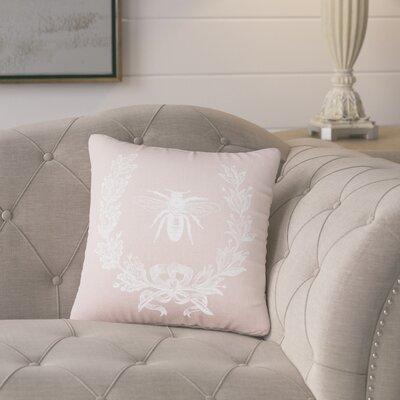 Tiago Throw Pillow Color: Peach