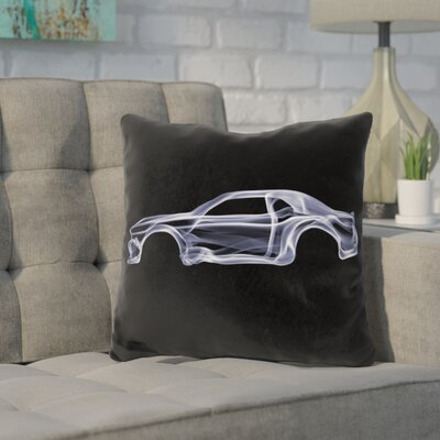 Kennon Dodge Challengerd Throw Pillow