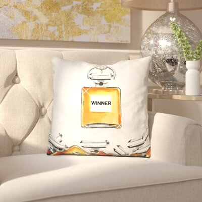 Eleonor Winner Throw Pillow