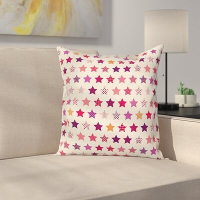 Modern Star Pillow Cover Size: 18 x 18
