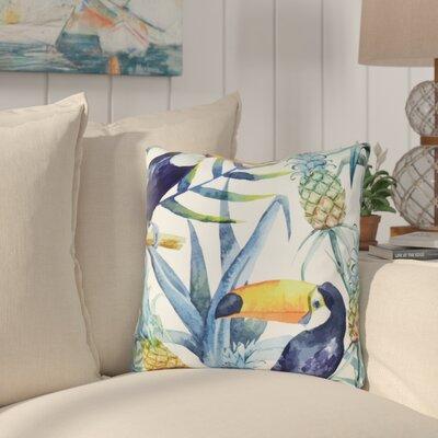 Letitia Tropical Indoor/Outdoor Throw Pillow