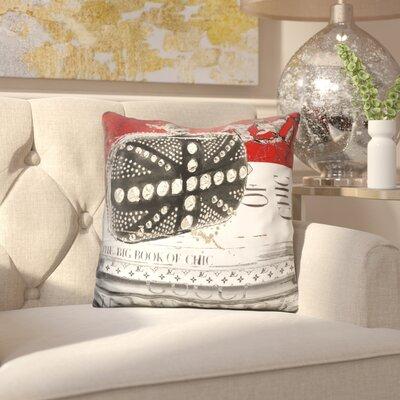 Inglestone Common Book of Chic Throw Pillow