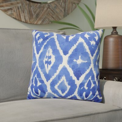 Holub Blue Indoor/Outdoor Throw Pillow