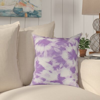 Pembrook Floral Throw Pillow Size: 18 H x 18 W, Color: Purple