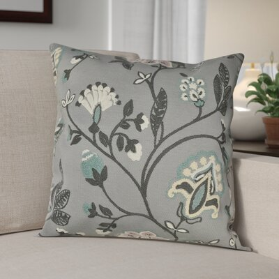 Piso Vine Woven Decorative Pillow Cover Color: Grey