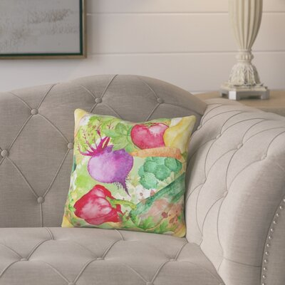Geier Vegetables Farm to Table Outdoor Throw Pillow