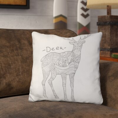 Oliveira Deer Throw Pillow
