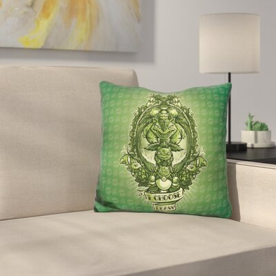 I Choose Grass Throw Pillow