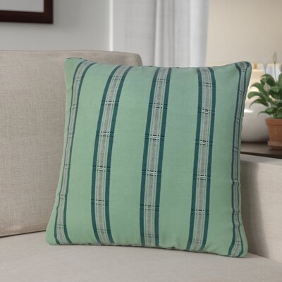 Calton Striped Down Filled 100% Cotton Throw Pillow Size: 22 x 22