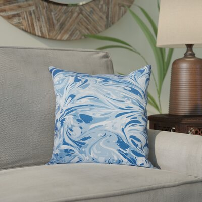 Willa M�lange Geometric Print Throw Pillow Size: 20 H x 20 W, Color: Blue