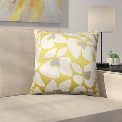 Buitron Geometric Cotton Throw Pillow Color: Summerland, Size: 20 x 20