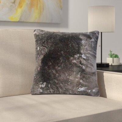 Abstract Anarchy Design Crepuscular Nebula Outdoor Throw Pillow Size: 16 H x 16 W x 5 D